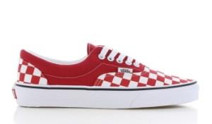 Vans Era Checkerboard Rood Dames