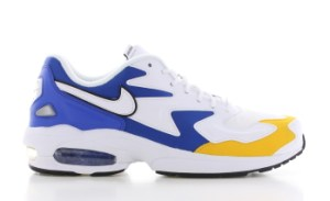 Nike Air Max 2 Light Wit/Blauw/Oranje Heren