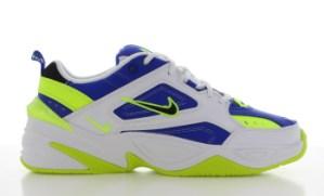 Nike M2K Tekno Wit/Blauw/Geel Heren