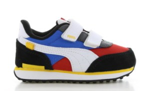 Puma Rider Game On Blauw/Rood Peuters