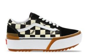 Vans Old Skool Stacked Checkerboard Dames