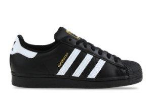 adidas Superstar Zwart/Wit Heren