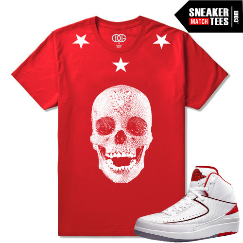 low priced a648c 90cba Love Of God Skull Tee (Red)