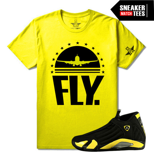 huge discount 5f52f bbdff Thunder 14s matching Sneaker Tees ...
