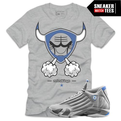 911b408600a935 Smokin 14 Tee (Sport Blue 14s)