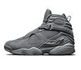 Air Jordan 8 Cool Grey Shoe Collection