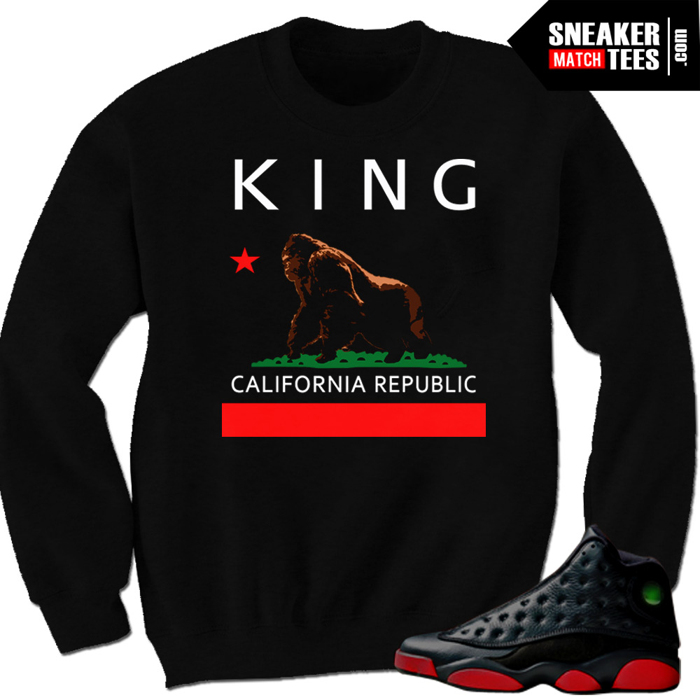 Dirty Bred 13s crewnecks winter clothing California Republic sweater