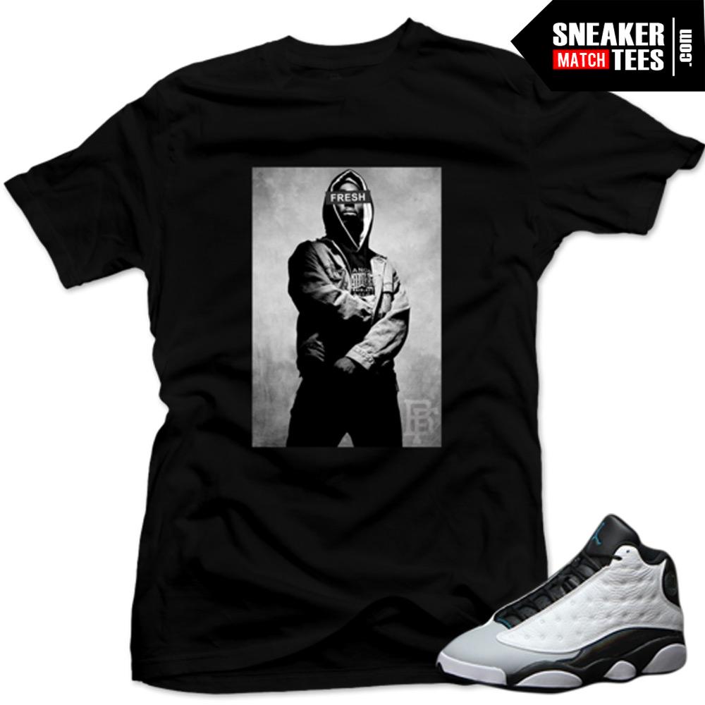ffa7db5452b Shirts to match Baron 13s. Clothing for Jordan 13 Baron matching sneaker  tees, shirts