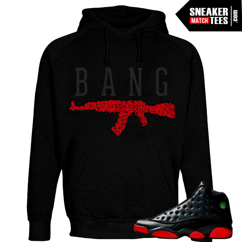 Hoodies-to-match-the-dirty-bred-13s-jordan-retros-matching-streetwear-apparel-shirts-and-clothing-for-Dirty-bred-13