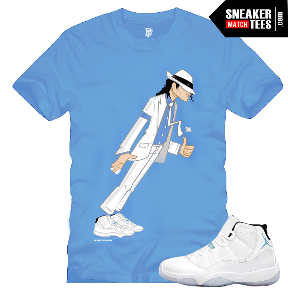 Legend Blue 11 matching shirts sneaker tees clothing