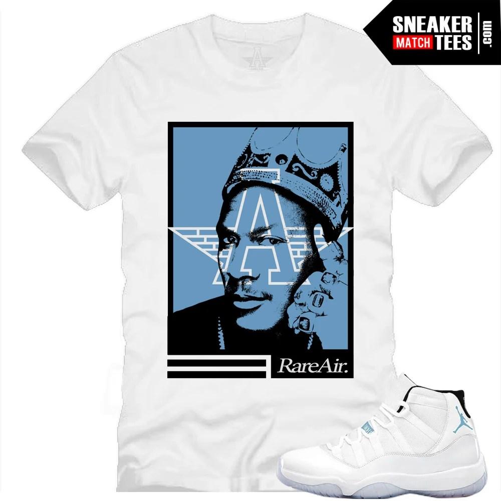 purchase cheap f9421 80703 Legend Blue 11s Sneaker Tee|MJ Six Rings Sneaker Tee White