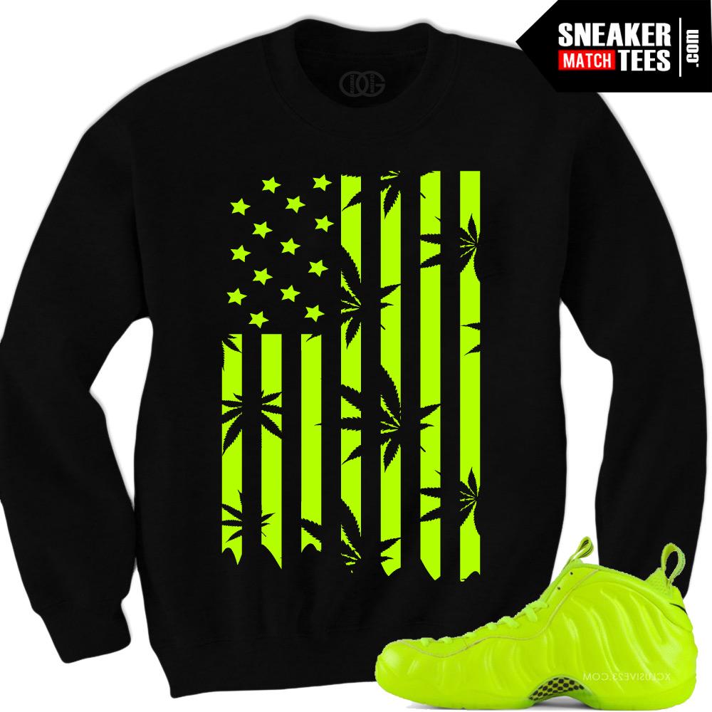 437d073304d Volt Foamposite Crewneck Sweaters
