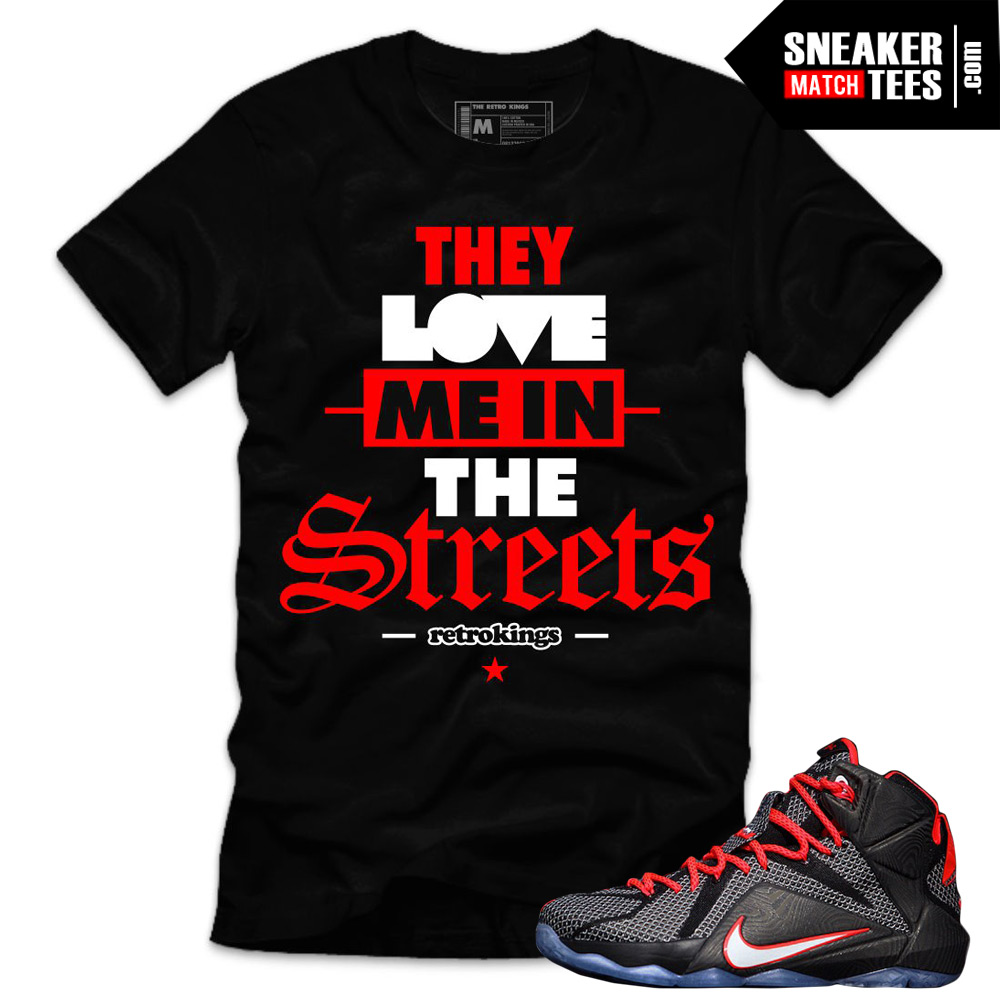 wholesale dealer 8f4ad 18346 Sneaker Tees for the Nike Lebron 12 Court Vision. Lebron 12 Court Vision  sneakers release