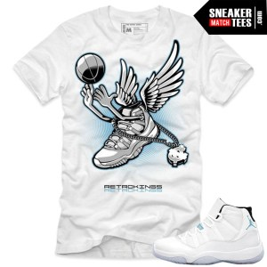 Shirts that match the legend blue 11s