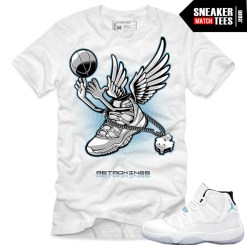 Shirts that match the legend blue 11s