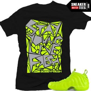 Shirts that match Foamposite Volt