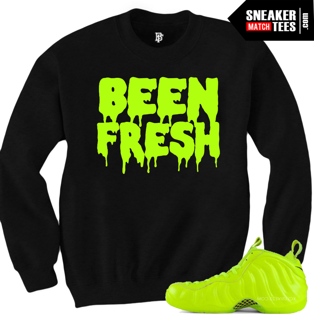 Shirts to match the Volt Foamposites