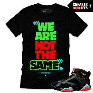 Jordan 7 Marvin the Martian shirts sneaker tees to match Marvin Martian 7s online shopping streetwear karmaloop