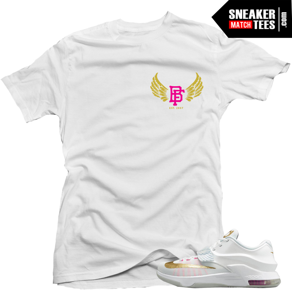 51608ee3cecf KD 7 Aunt Pearl matching sneaker tees shirts
