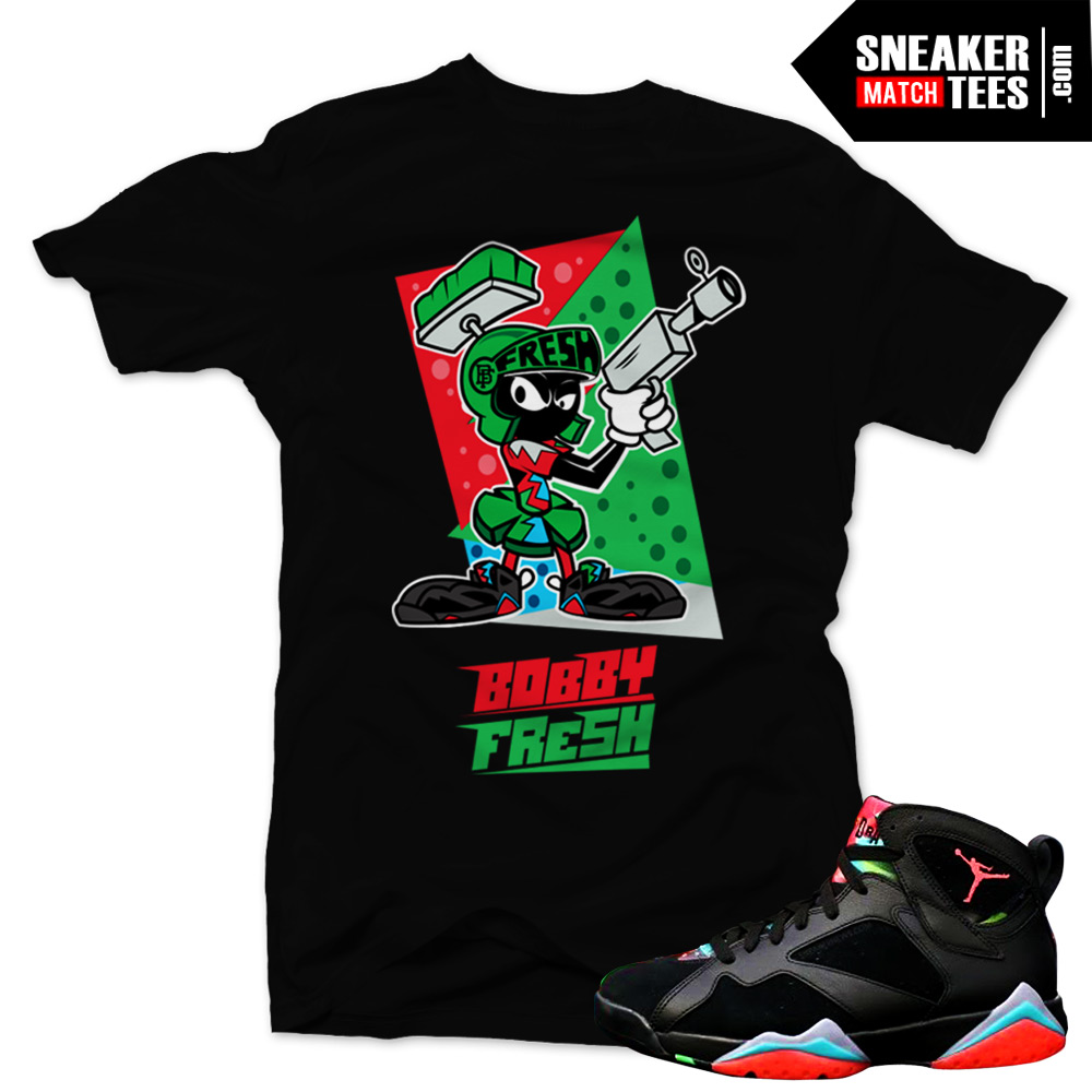 262be3bc1e7dd4 Marvin the Martian 7s matching sneaker tees shirts