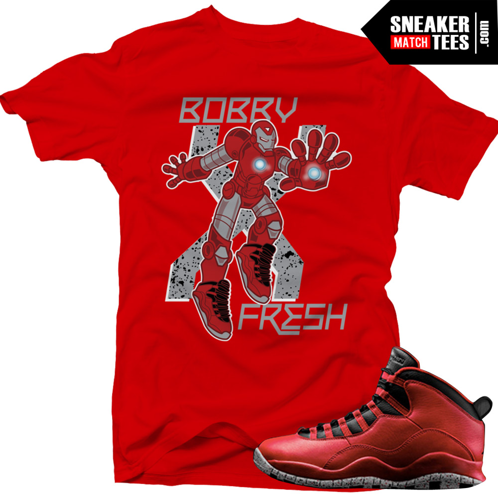 c32a31a629fc Bulls over Broadway 10s matching sneaker tees shirts