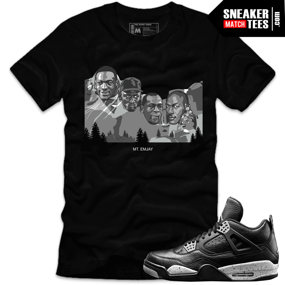 New-jordan-sneaker-tees-shirts-to-match-Oreo-4s-streetwear-online-shopping-karmaloop
