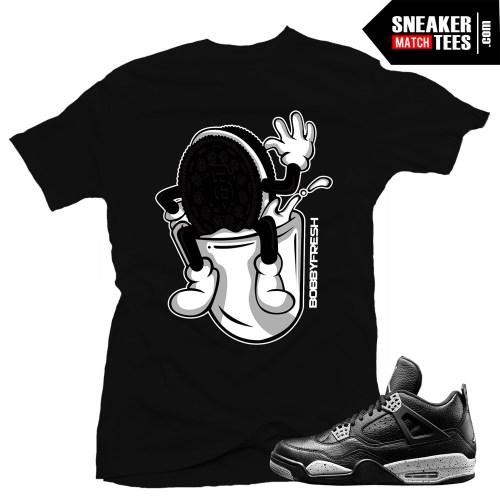 Sneaker-tee-shirts-to-match-jordan-4-Oreos-streetwear-online-shopping-karmaloop