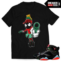 Sneaker-tee-shirts-to-match-the-Jordan-7-Marvin-the-Martian-streetwear-online-shopping-karmaloop