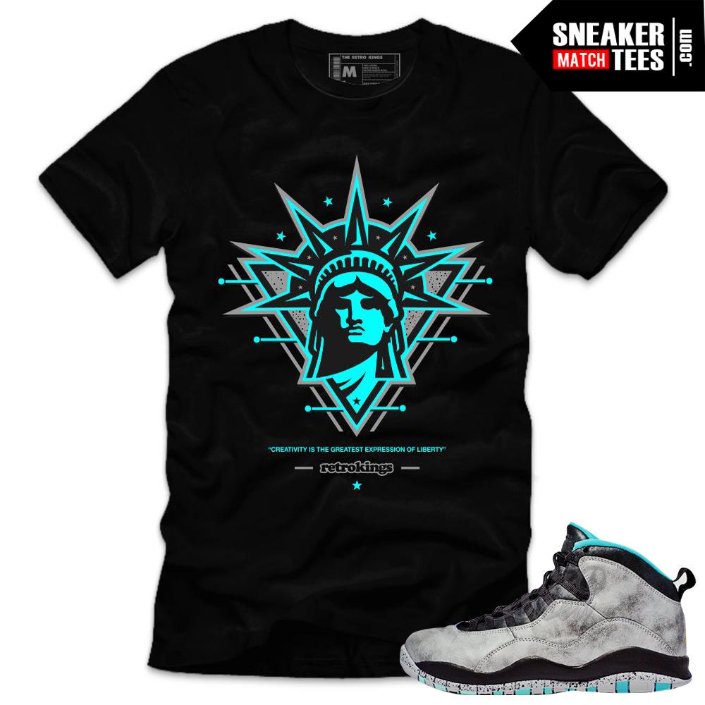 70bc120c389121 Sneaker-tees-shirts-jordan-10-lady-liberty-jordan-
