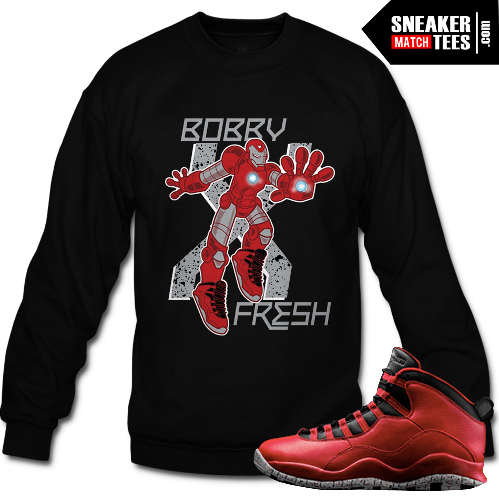 c60e16767900 Bulls over Broadway 10s matching sneaker tees shirts