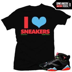 Shirt to match jordan 7 marvin the martian sneaker tees shirts to match Marvin the Martian 7s streetwear online shopping karmaloop