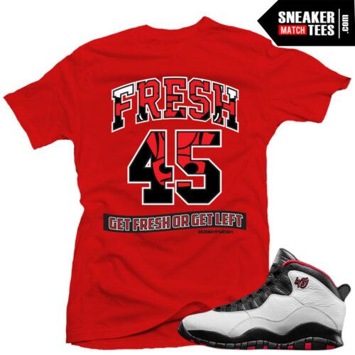 ba274936f73e Double Nickel 10s match shirt sneaker tee shirt match Jordan 10 Double  Nickel Streetwear Karmaloop online