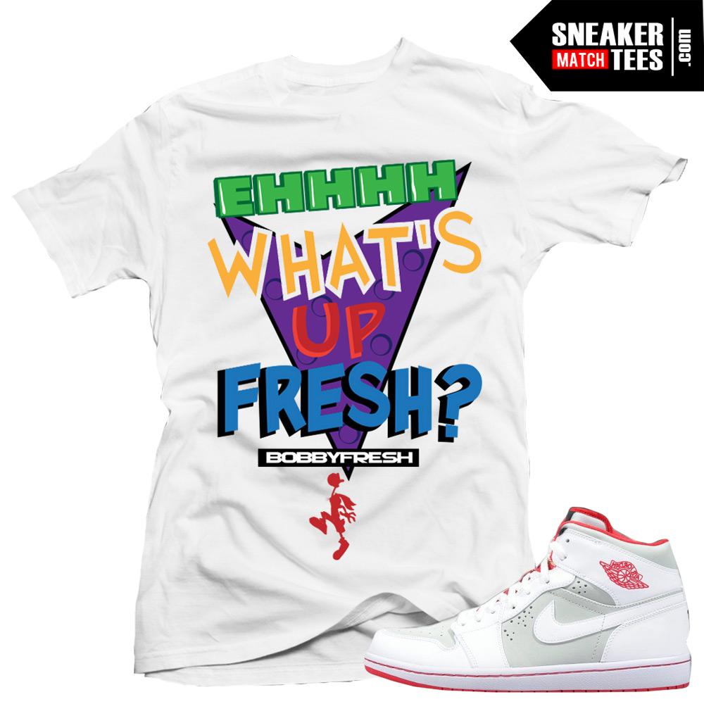 41a67f34153ec Jordan 1 Hare match shirts Hare 1s match sneaker tee shirts Streetwear  Karmaloop online shopping