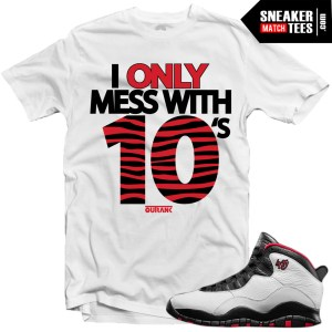 Jordan 10 Double Nickel matching shirt Double Nickel 10s sneaker tees shirts karmaloop streetwear