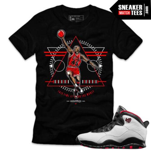 hot sale online 17746 86287 Air Jordan Retro 10 Double Nickel match shirts