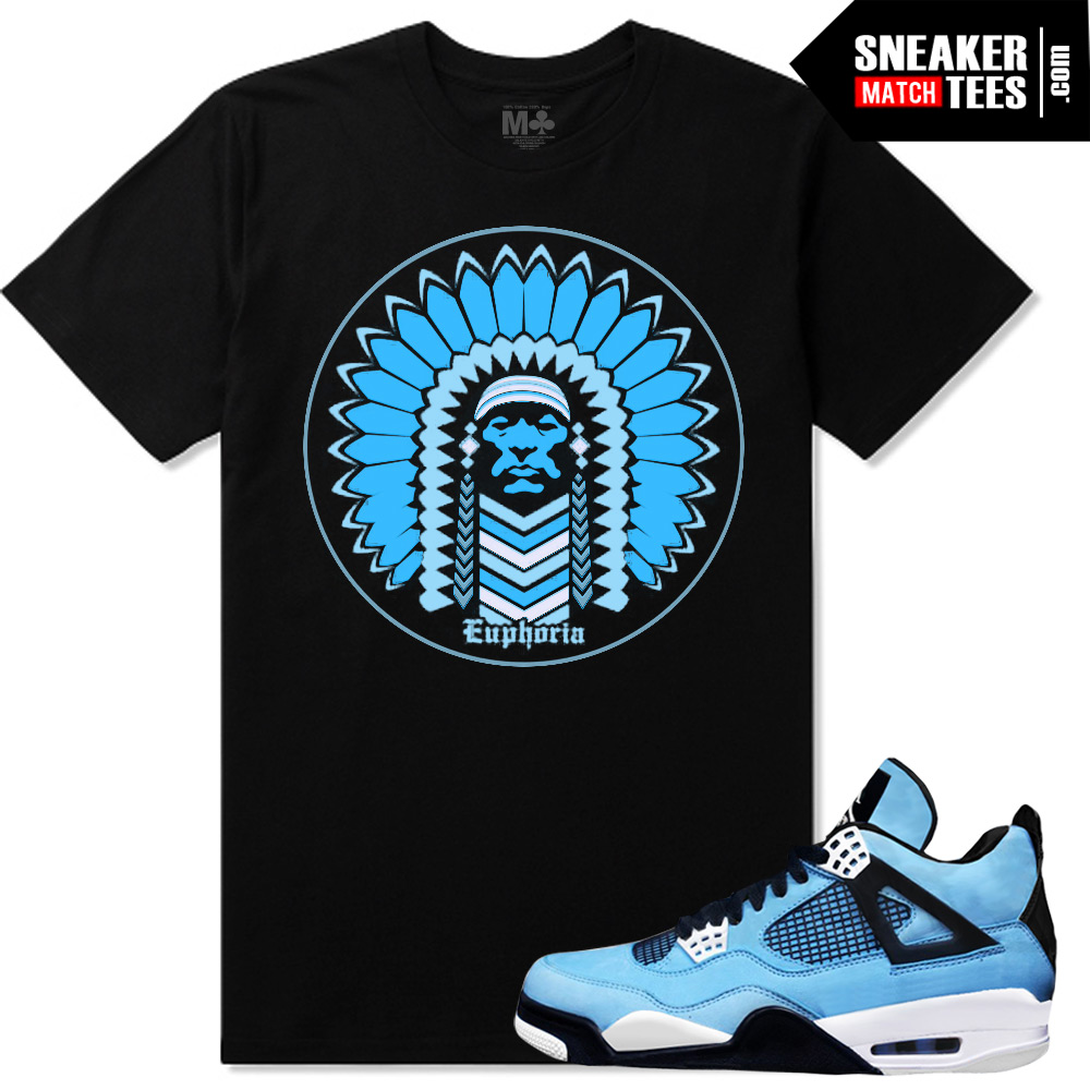 newest collection e5646 71c54 Powder Blue 4s shirts |