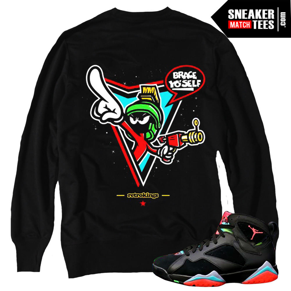 22071fea61c9fc Marvin the Martian 7s matching sneaker tees shirts