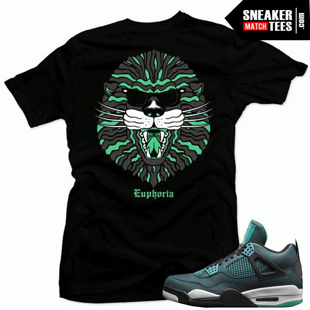 0e57fd3cf3334f Mens Shirts to match Jordan Retro 4 Teal clothing outfits sneaker tees  shirts match new jordans