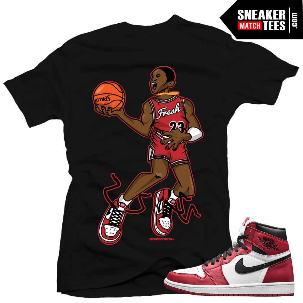 Jordan 1 Chicago matching shirts streetwear Karmaloop online shopping