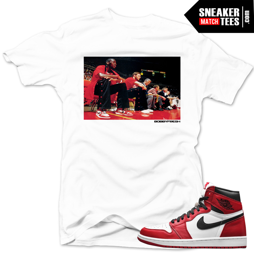 Jordan 1 shirts to match Chicago 1 Jordan retros streetwear online karmaloop