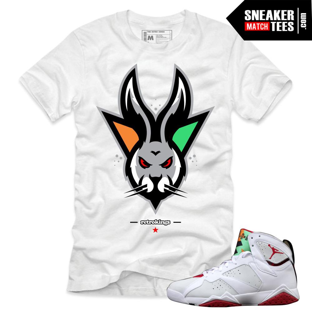 5dfc78b38a8fab Jordan 7 Hare shirts to match