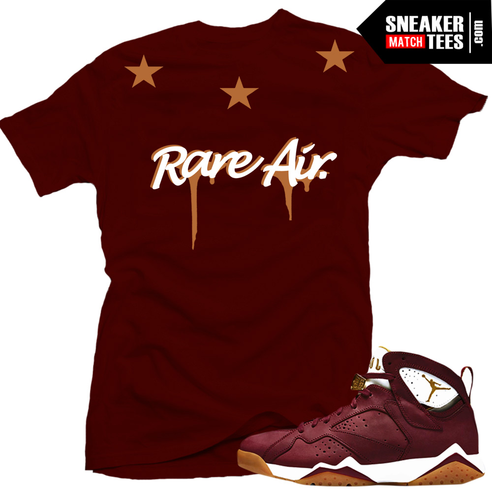 on sale ee624 81be1 Jordan 7 Cigar shirts to match