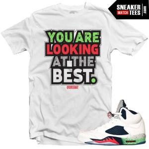 Jordan V Space Jam shirt karmaloop streetwear