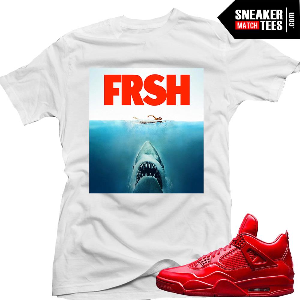 a5699706541 Jordan 11lab4 Red shirts to match