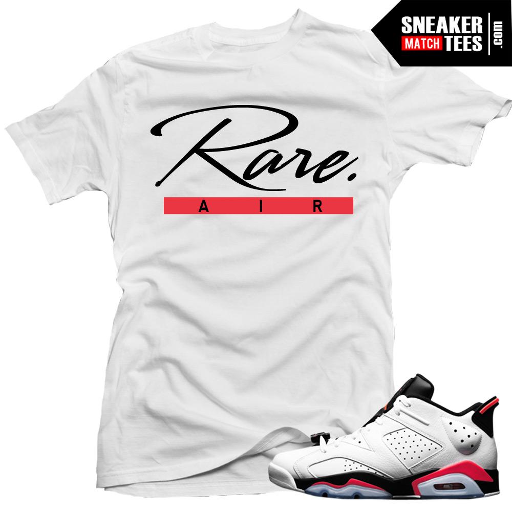27f8117117d918 Jordan 6 low White Infrared shirts to match