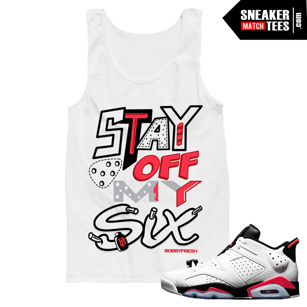 27f8117117d918 Jordan 6 low White Infrared shirts to match