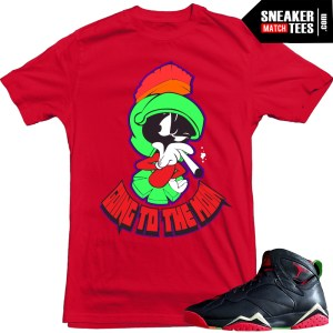 Jordan 7 Marvin the Martian t shirt to match sneaker news jordans