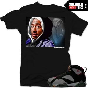 Jordan 7 bordeaux matching t shirt