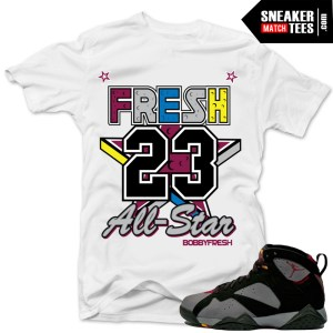 jordan 7 bordeaux shirts