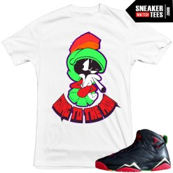 Marvin the Martian 7s release date sneaker news t shirts to match